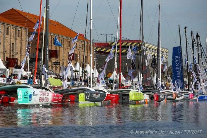 50:Seks båter deltar i Multi 50-klassen. Nivået i klassen øker, og flere sponsorer satser.