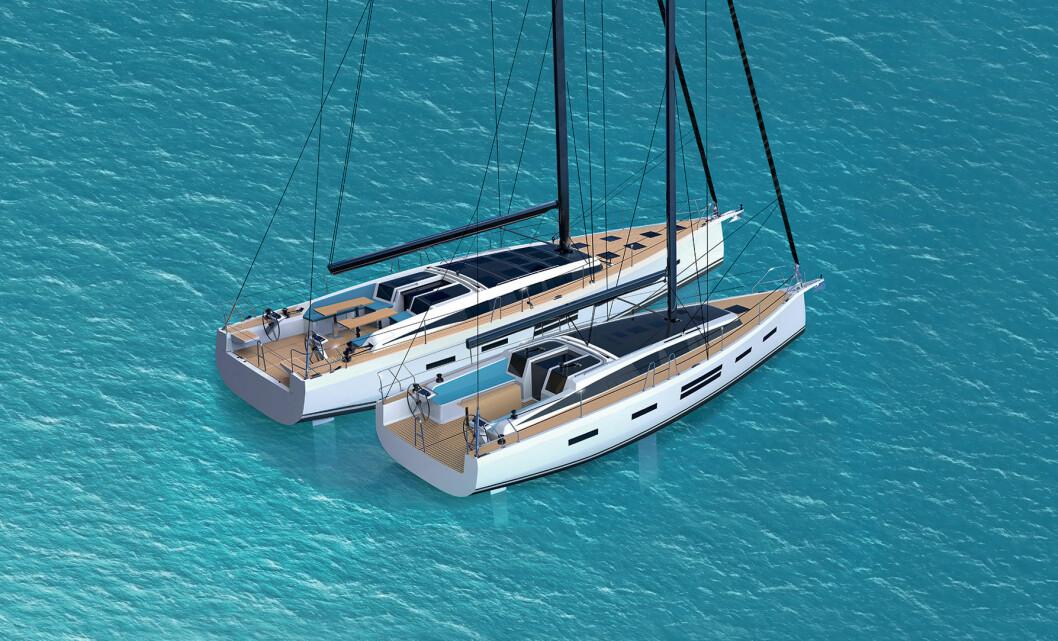 POLSK: Delphia utvikler to nye modeller med moderne design.