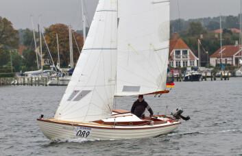 PRØVE: De felste stiller uten en sjanse om å vinne. Det er tett med eldre båter.