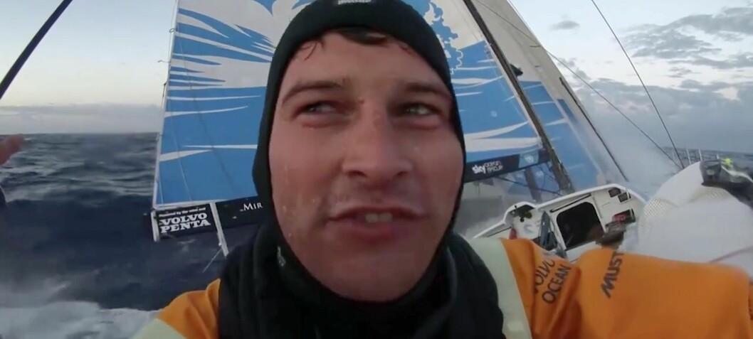 Det er mennesker som seiler Volvo Ocean Race