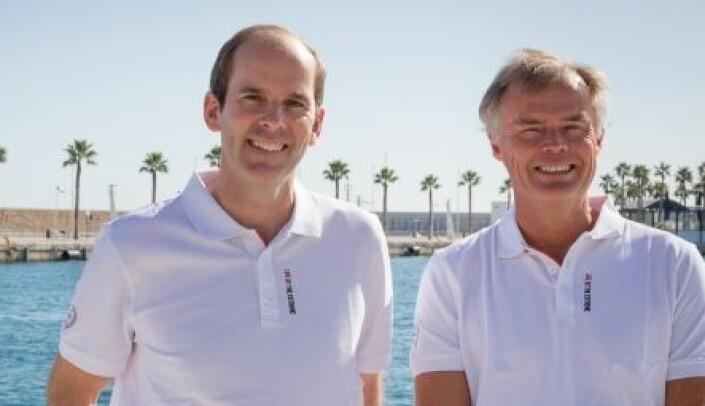 Richard Brisius og Johan Salén eier ig driver The Ocean Race.