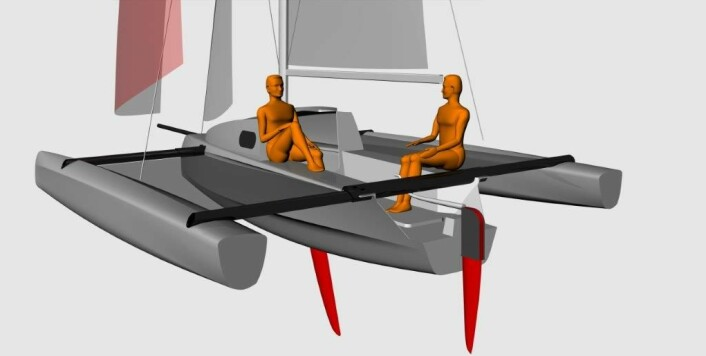 TUR: Astus er alene om sitt konsept på markedet. Det er langt mer kostbart å bygge flerskrogsbåter, fordi kreftene er større, men det franske verftet makter å holde prisen nede.