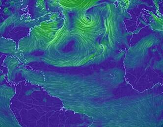 Utfordrende vindforhold for ARC-seilerne