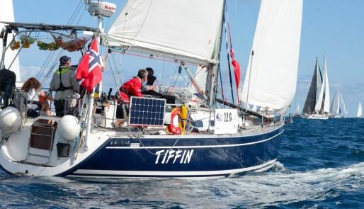 Norsk ARC-båter langt fremme i krevende vind