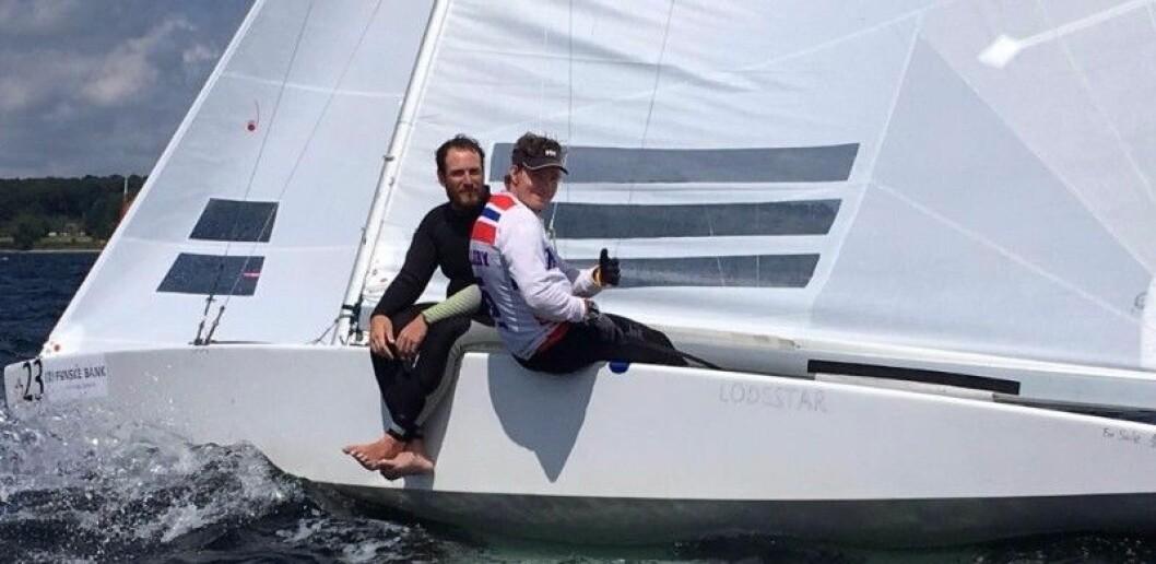 STAR: Eivind Melleby og Joshua Revkin er godt med i Miami.