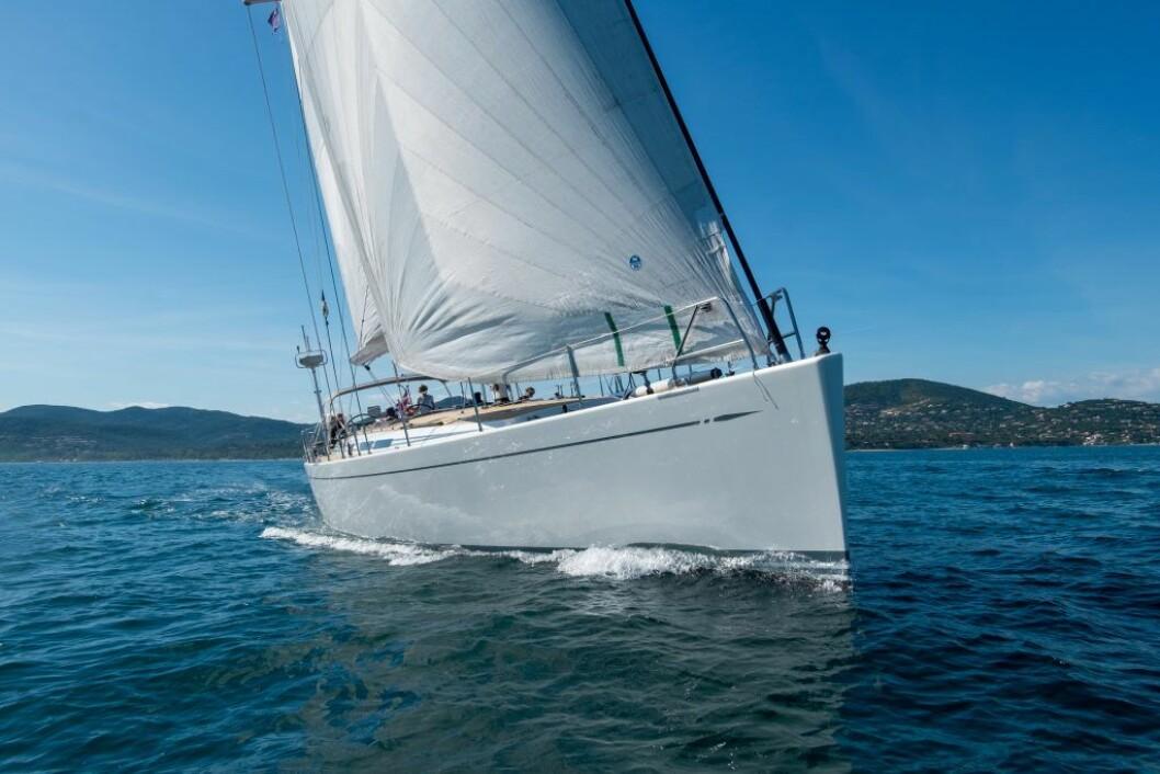 RASK: Swan 66 Enigma kan bli første båt til St. Lucia fra Las Palma.
