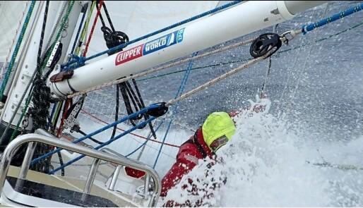 Pallplass til Stian Tønnesen etter etappe i Sørishavet