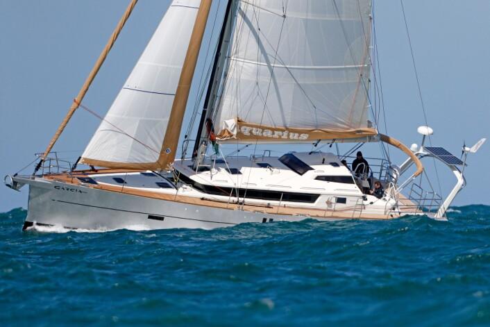 VELBYGD: Både Garcia 45 Exploration og 52 Exploration har blitt nominert til Årets Båt i Europa. Her er 52-foteren.