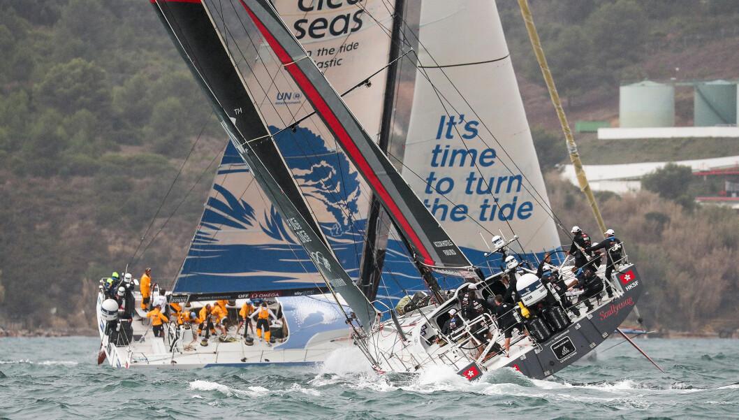 BANESEILING: Baneseilasene i Volvo Ocean Race har så langt bydd på tette dueller og dramatikk. Slik blir det sikkert også i dagens seilaser i Cape Town.