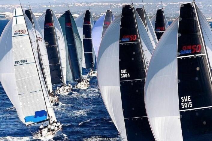 PROFF: Club Swan 50 er en klasse i sterk vekst, og øker etterspørselen etter gode seilere.