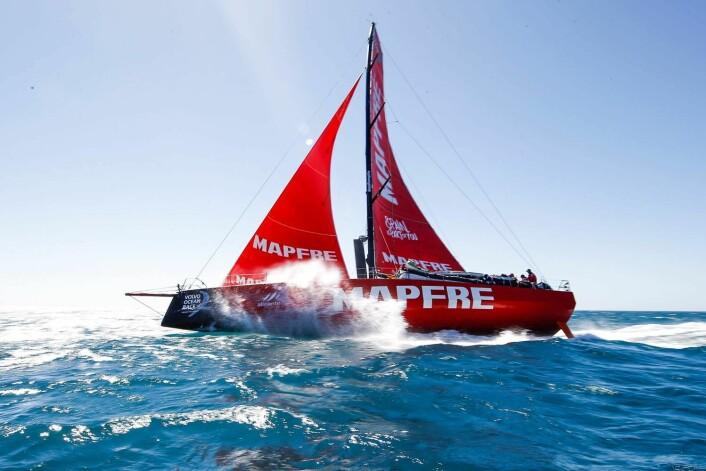 LEDER: Mapfre klarer å tyne det lille ekstra ut av båten.