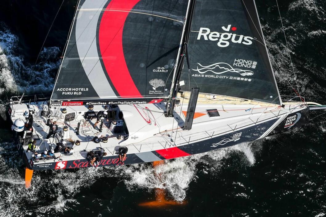 STOPPET: Scallywag driver uten mål og mening, men det er tyst fra båten og arrangøren.