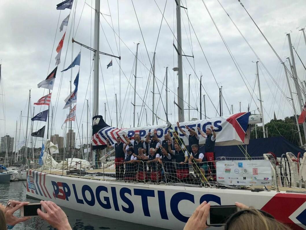 AMBISJONER: Pål Tønnesen og «PSP Logistic» ble fire på etappen fra Fremantle til Sydney, og ligger seks sammenlagt.