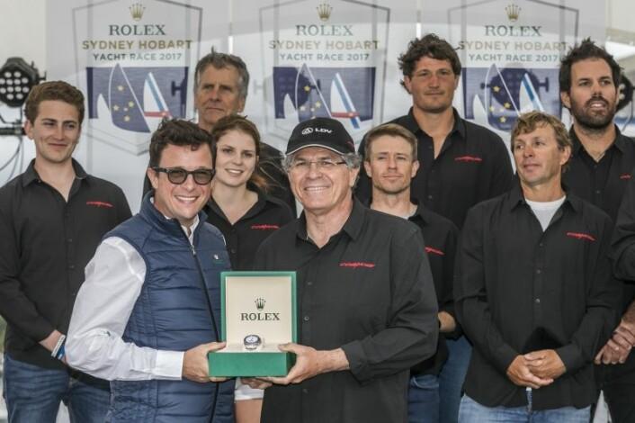 Vinnerne av årets Sydney Hobart Race