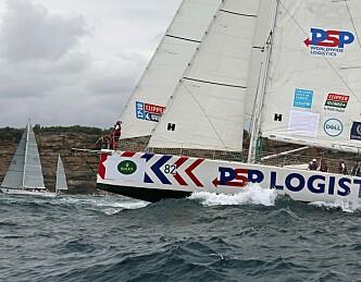 Ledet til Hobart, med havnet i vindhull