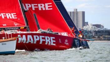 BEST: «Mapfre» vant tredje etappe, og startet 4. etappe sterkt.