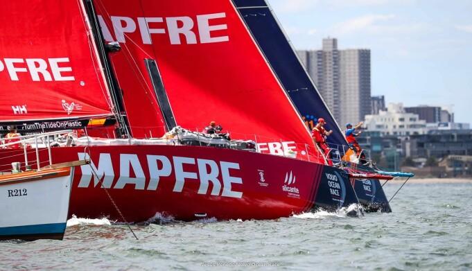 Volvo Ocean Race: «Mapfre» vant tredje etappe, og startet 4. etappe sterkt.
