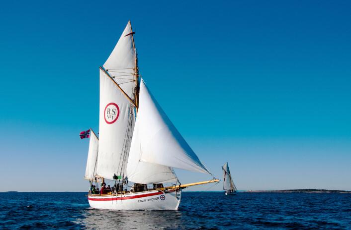 RS 1 COLIN ARCHER: I 2018 er det 125 år siden et av Norges mest ikoniske fartøyer ble bygd i Larvik.