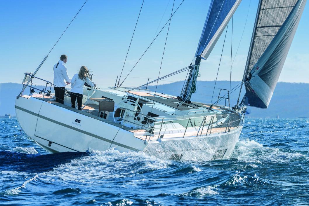 C45: Bavarias nye 45-foter vises frem i de tre ulike utstyrsnivåene båten vil selges i.