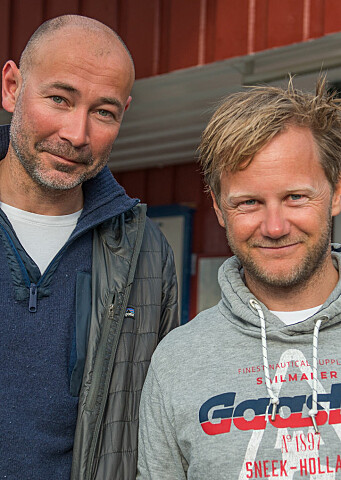 Favoritter: Tim Sandberg og Sigmund Andre Hertzberg kjemper sammen om å nå til topps på shorthanded-rankingen.