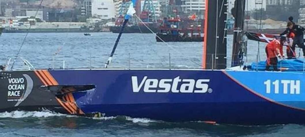 Tragisk innspurt i Volvo Ocean Race