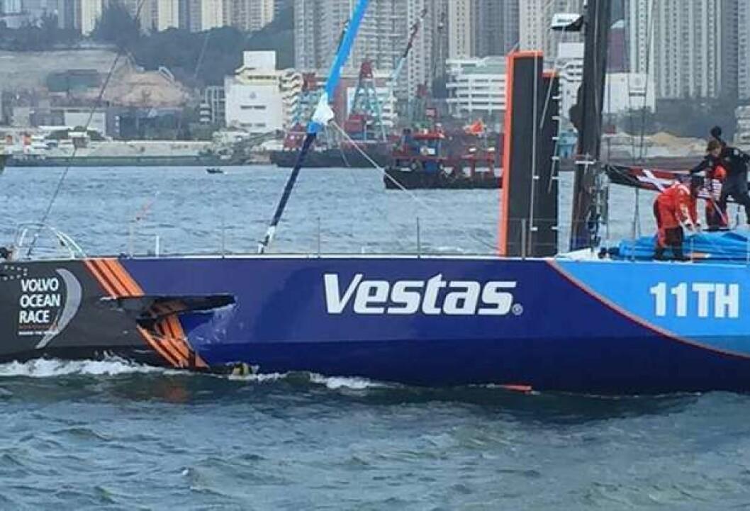 SKADET: «Vestas» kolliderte med fiskebåt med døden til følge.