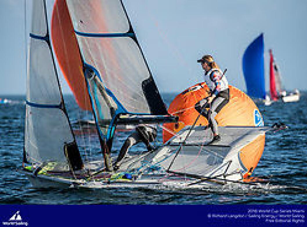 Ragna og Maia Agerup starter verdenscupen med 1. og 2. plass.