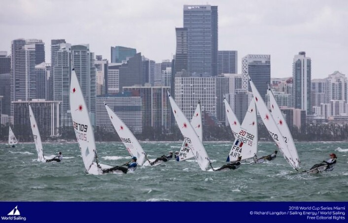 Laser Radial, Miami World Cup 2018