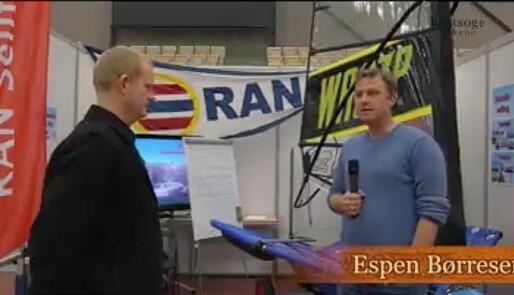 Seilforening på båtmesse