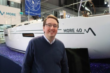 ETTERSPURT: Einar Halldin i More Sailing forteller at verftet nå skal doble produksjonen fra 10 båter i 2017 til 20 båter i 2018.