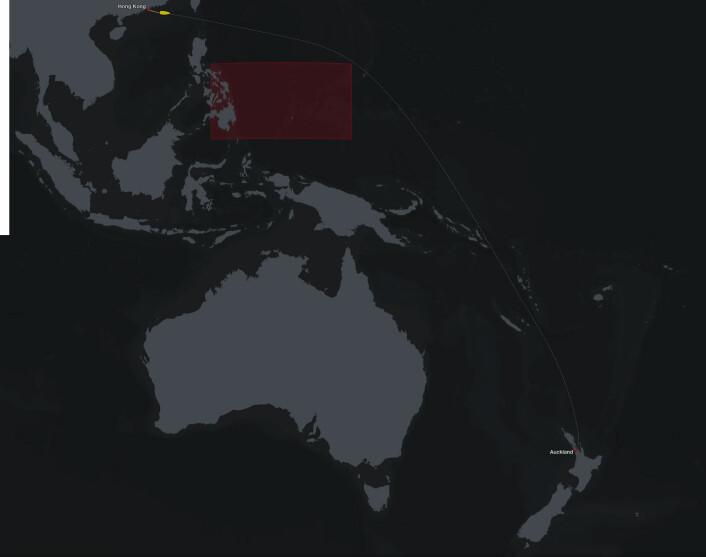 LANGT: Sjette etappe er på 6100 nautiske mi og går gjennom flere klimasoner. Det kan gi strategiske muligheter. Båtene er ventet i mål mot slutten av februar.