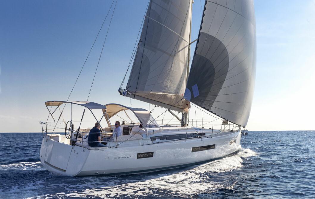 TRENDY: Jeanneau har skapt en trendsetter med Sun Odyssey 440.