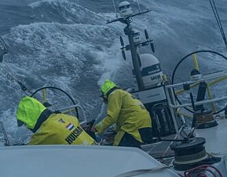 Volvo-seilerne på feil kurs