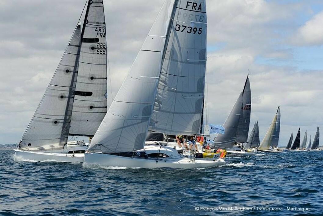 POPULÆRT: 88 båter er på vei over Atlanterhavet.