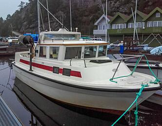 Endeleg har vi startbåt!