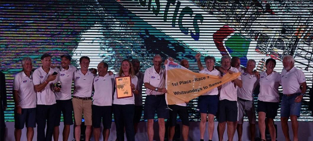 Endelig seier i Clipper Race