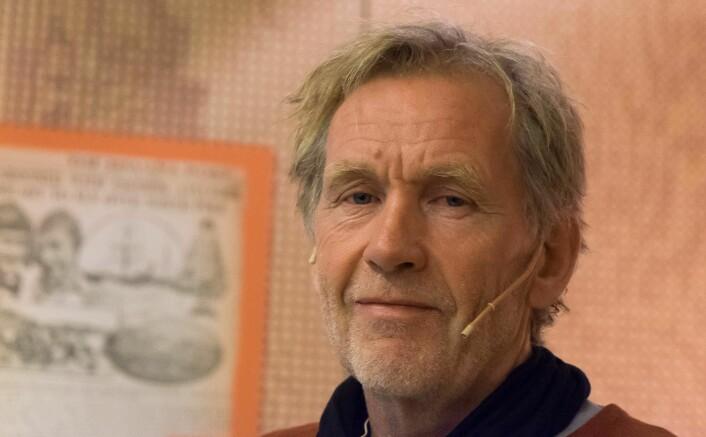 VÆR OG VIND: Det vil være tiden, været og vinden som bestemmer når og hvor «Maud» først får landkjenning i Norge, fastslo Jan Wanggaard.