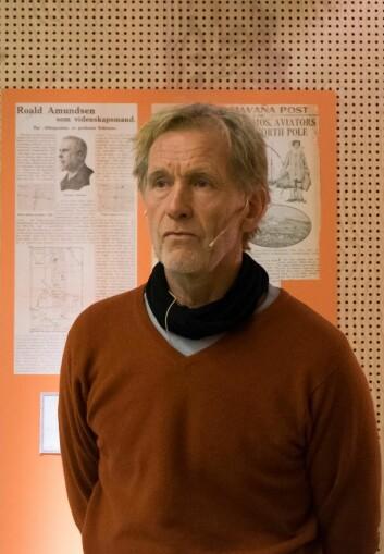 VITENSKAPELIG: ? «Maud»-eksepdisjonenutførte et viktig vitenskapelig oppdrag, sa Jan Wanggaard.