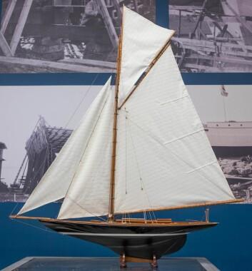 «PANDORA»: 9-meteren «Pandora» er Helge Bendixens mesterverk.