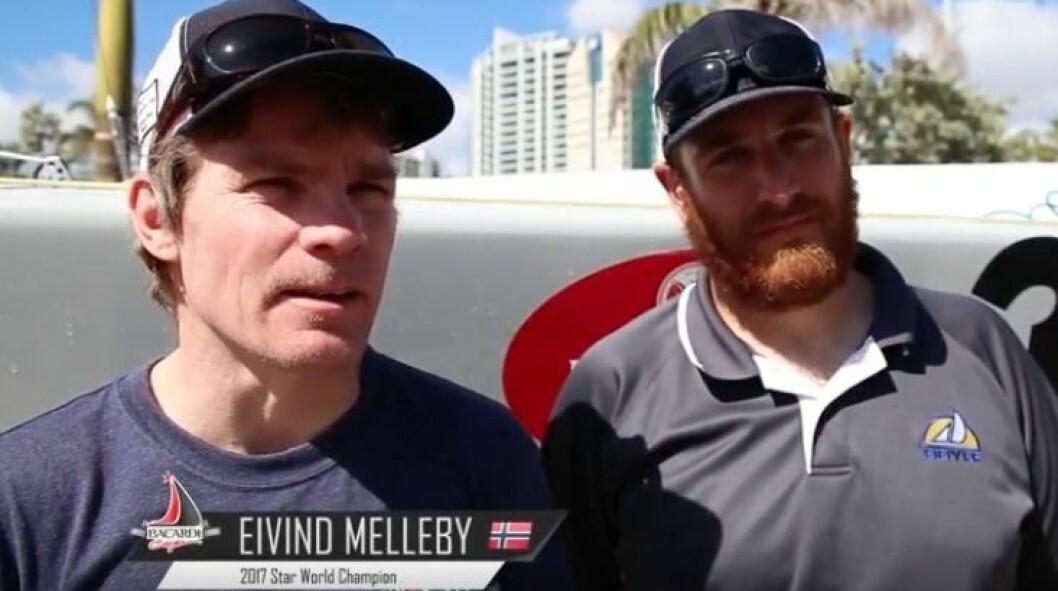 Litt skuffende avslutning for Evind Melleby og Josh Revkin.