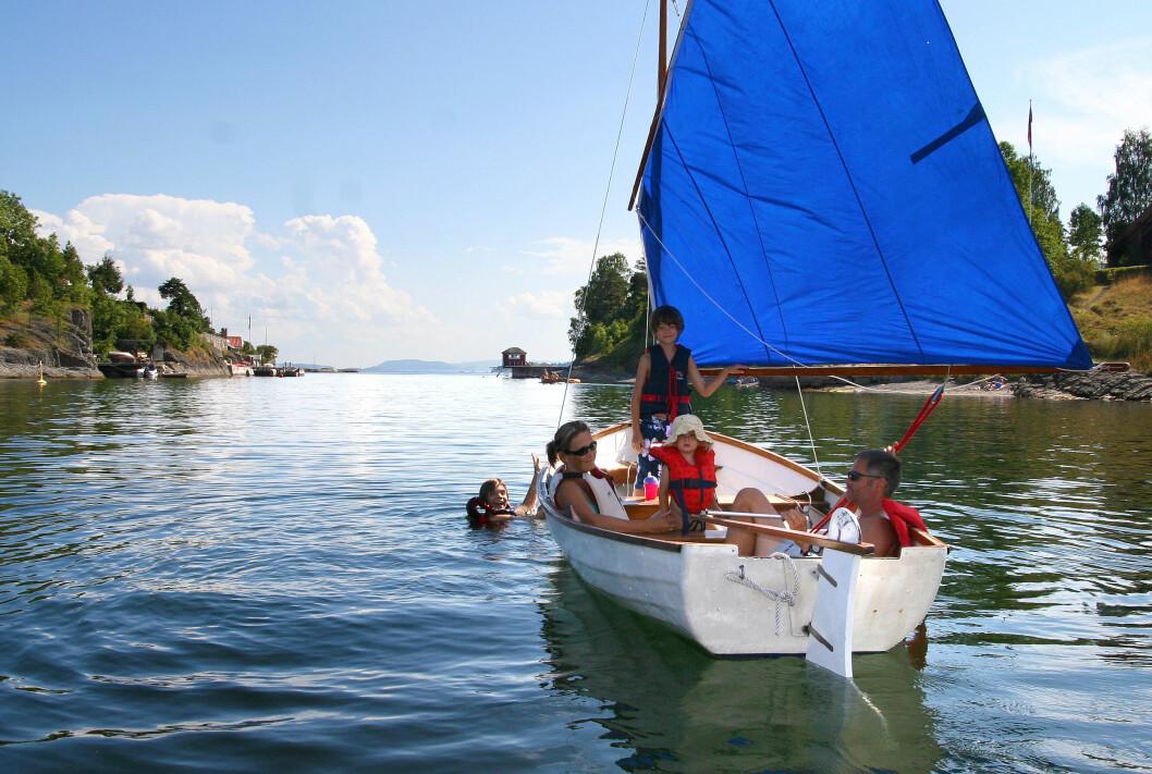 ENKELT: Henrik Torgersen ønsker mer fokus på friluftsliv på sjøen.