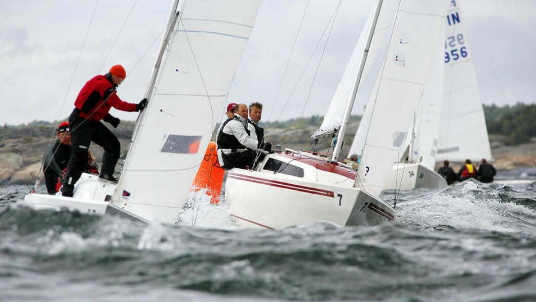 I SANDEFJORD: VM i H-båt går i år utenfor kysten av Vestfold i regi av Sandefjord Seilforening.