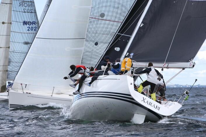 REVANSJESUGNE: Amund Høsøien og mannskapet hans om bord i «Xarabi» var uheldige i VM i 2017 og er nok sugne på en revansj på Hankø i år.