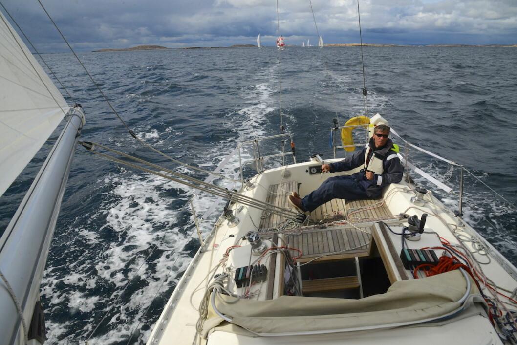 SOLO: Midsummer Solo Challenge er en en-mannsregatta i farvannet hvor Bohusracet seiles.
