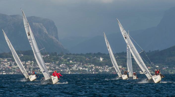 EXPRESS NM 2018: Stavanger Seilforening arrangerer årets norgesmesterskap i Express.