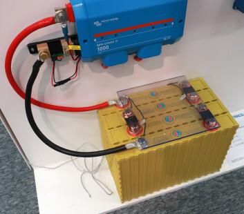 ENERGI: «S/Y Alvejakten» blir utstyrt med litiumbatterier fra Winston. Motoren skal ha 48 volt, og batteribanken vil bli bygget opp av 32 celler på 800 Ah.