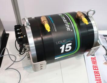 KRAFT: Øiestad har valgt en 20 kW elmotor fra Bellmarine. Det er en effektiv børsteløs AC-motor som også kan lade betteriet under seil.