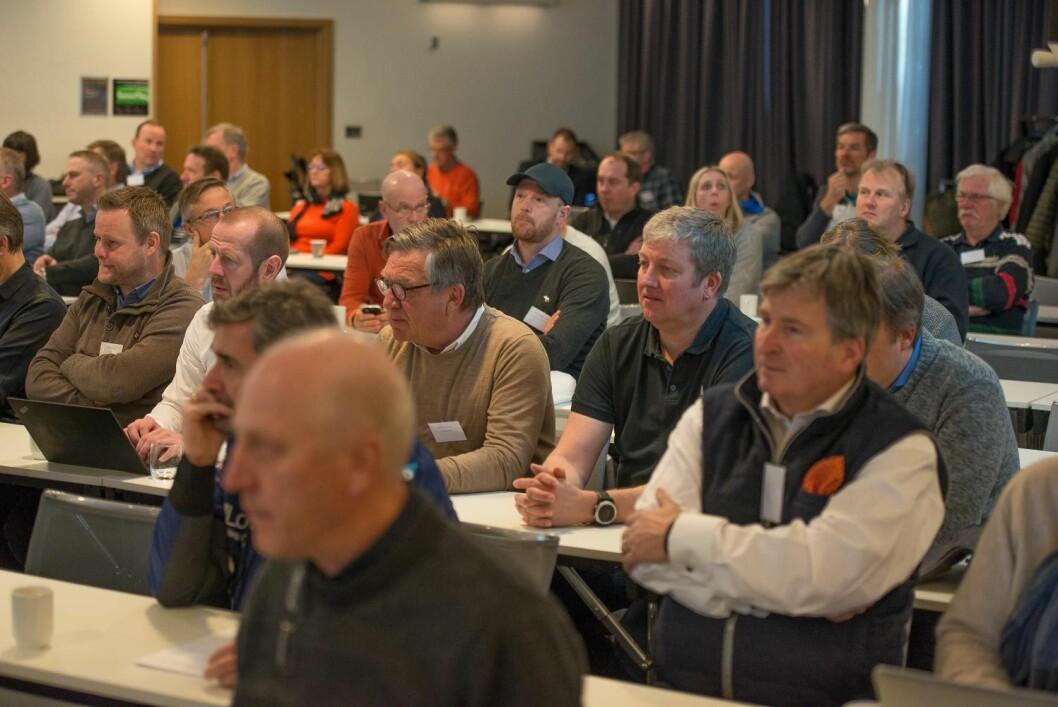 KLUBBKONFERANSE: Ledermøtet ble avholdt i forbindelse med seilforbundets klubbkonferanse på Gardermoen.