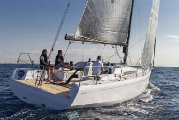 REGATTA: Grand Soleil 34 er rettet for regattaundet ORCi og IRC.