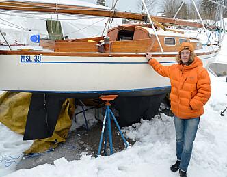 Kjøpte seilbåt som 14-åring